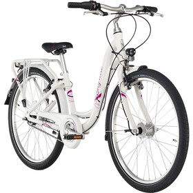 "Puky Skyride Light 24"" Bicicletta 7 marce Ragazza, white"